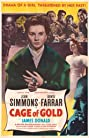 Cage of Gold (1950) Poster