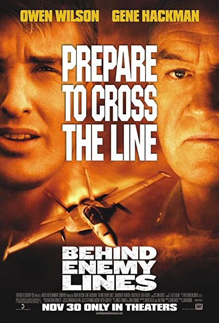 Behind Enemy Lines (2001)  English 1080P | 720P |  Blu-Ray |  1.6GB | 700MB  | Download | Watch Online | Direct Links | GDrive