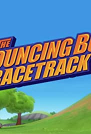 The Bouncing Bull Racetrack Poster