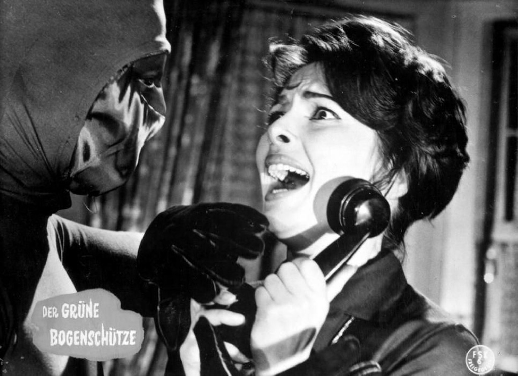 Karin Dor in Der grüne Bogenschütze (1961)