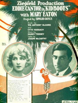 Eddie Cantor and Mary Eaton in Kid Boots (1926)