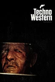 Techno Western Poster