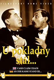 Vlasta Burian and Jaroslav Marvan in U pokladny stál... (1939)