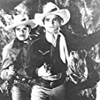Sammy Baugh and Duncan Renaldo in King of the Texas Rangers (1941)
