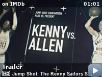 Jumpshot The Kenny Sailors Story (2020) caratula blu-ray + label 13