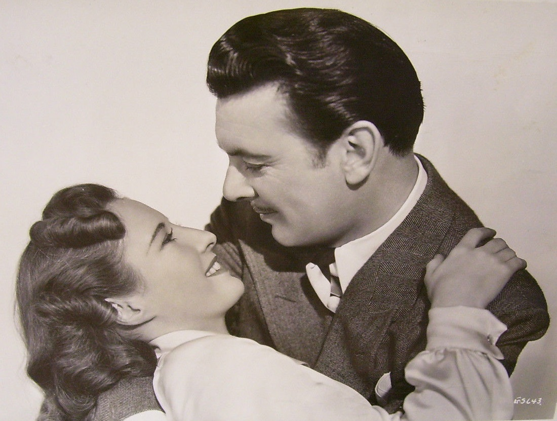 Barbara Stanwyck and George Brent in The Gay Sisters (1942)