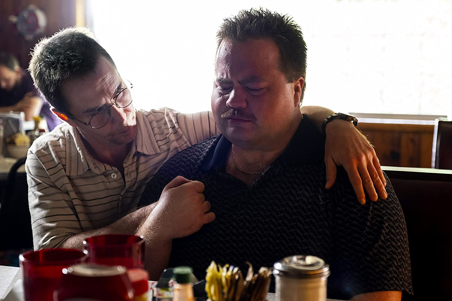 Sam Rockwell and Paul Walter Hauser in Richard Jewell (2019)