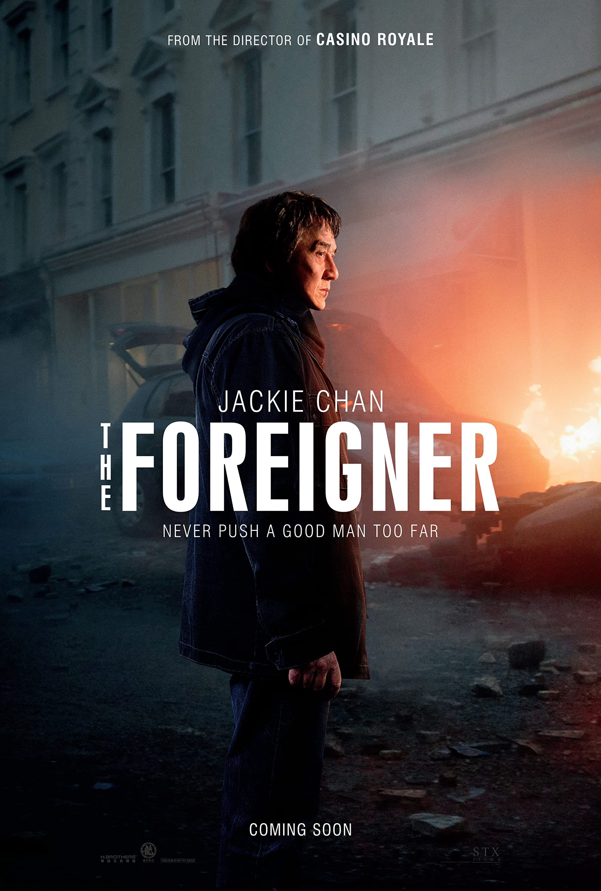 The Foreigner (2017) Dual Audio Hindi Dubbed Movie