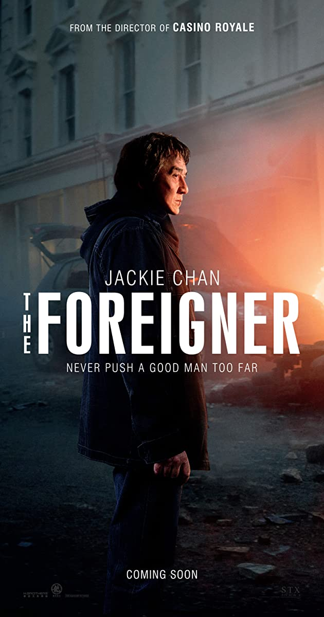 Subtitle of The Foreigner