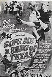 Sing Me a Song of Texas Poster