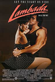 Melora Hardin and J. Eddie Peck in Lambada (1990)