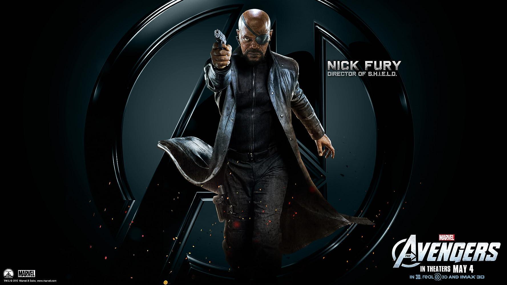 Samuel L. Jackson in The Avengers (2012)