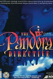 The Pandora Directive Poster
