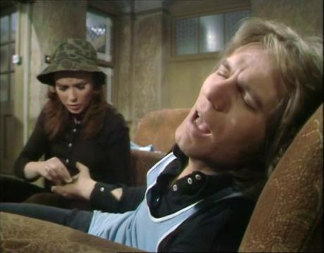 Lynn Dalby and Adam Faith in Budgie (1971)