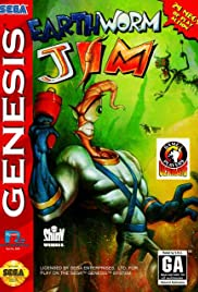 Earthworm Jim Poster