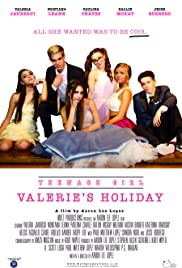 Teenage Girl: Valerie's Holiday Poster