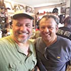 Carlos Guerrero and Paul Rodriguez on the set of Chateau Vato