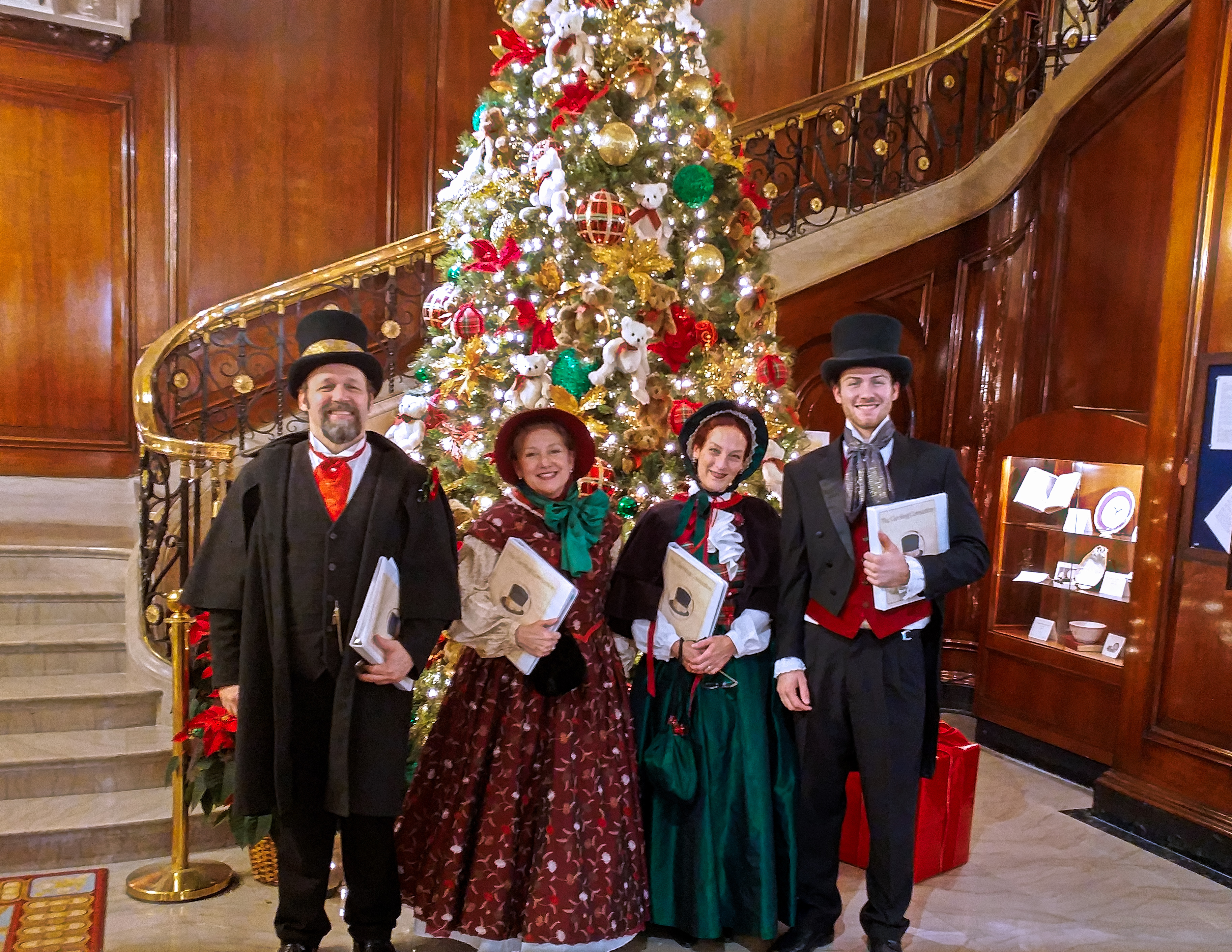 the Caroling Connection at the Union League Club of  Chicago