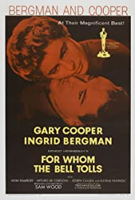 Ingrid Bergman and Gary Cooper in For Whom the Bell Tolls (1943)
