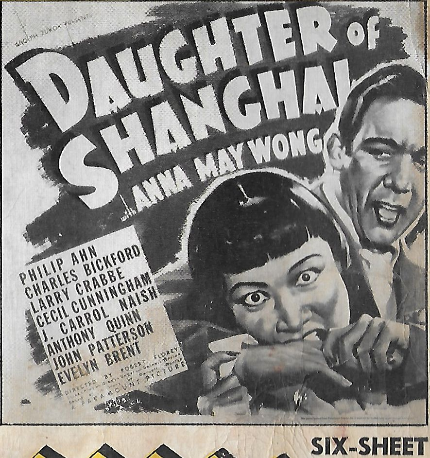 Anthony Quinn and Anna May Wong in Daughter of Shanghai (1937)