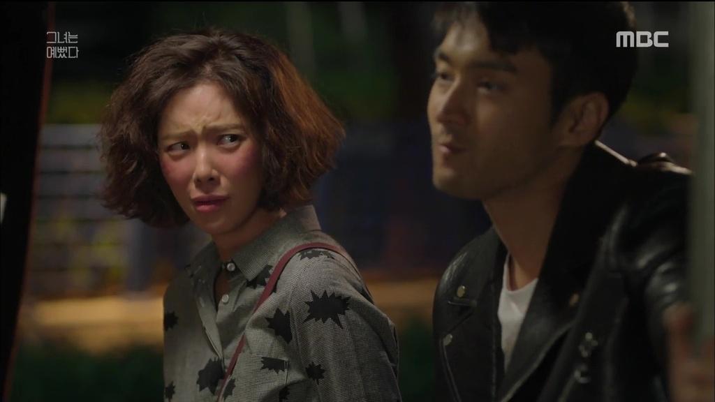 Si Won Choi and Jeong-eum Hwang in Geunyeoneun yeppeodda (2015)