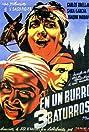 En un burro tres baturros (1939) Poster