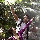 Sandra Bullock and Channing Tatum in Lost City of D (2022)