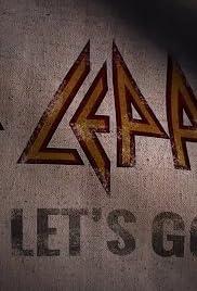 Def Leppard: Let's Go Poster