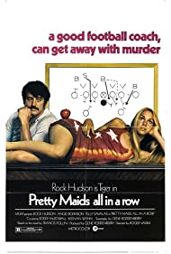 Rock Hudson and Margaret Markov in Pretty Maids All in a Row (1971)