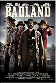 Mira Sorvino, Bruce Dern, Jeff Fahey, Trace Adkins, Wes Studi, Tony Todd, and Kevin Makely in Badland (2019)