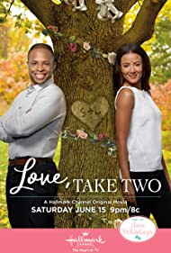 Heather Hemmens and Cornelius Smith Jr. in Love, Take Two (2019)