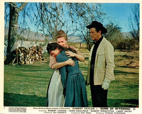 Robert Taylor, Virginia Christine, and Maggie Pierce in Cattle King (1963)
