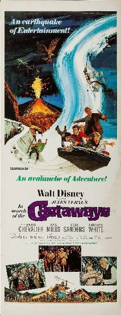 movie in search of the castaways 1962