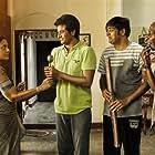 Saranya Ponvannan, Motta Rajendran, Sathish, and Sivakarthikeyan in Remo (2016)