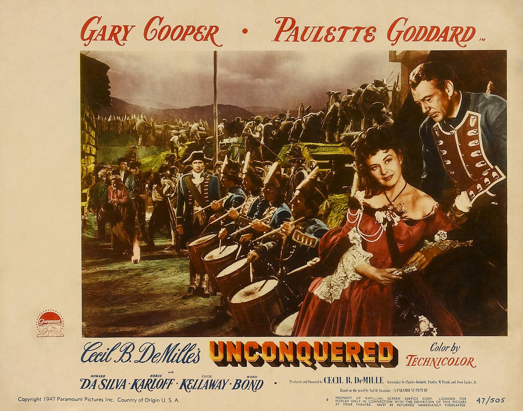 دانلود فیلم unconquered 1947