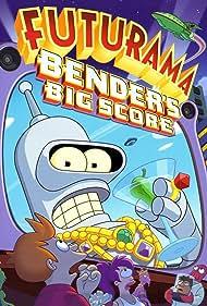 Katey Sagal, John DiMaggio, Phil LaMarr, Lauren Tom, and Billy West in Futurama: Bender's Big Score (2007)