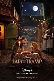 F. Murray Abraham, Justin Theroux, Rose, Monte, Tessa Thompson, and Arturo Castro in Lady and the Tramp (2019)