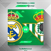Laliga 38. Matchday Real Madrid vs Real Betis Balompié (2019)