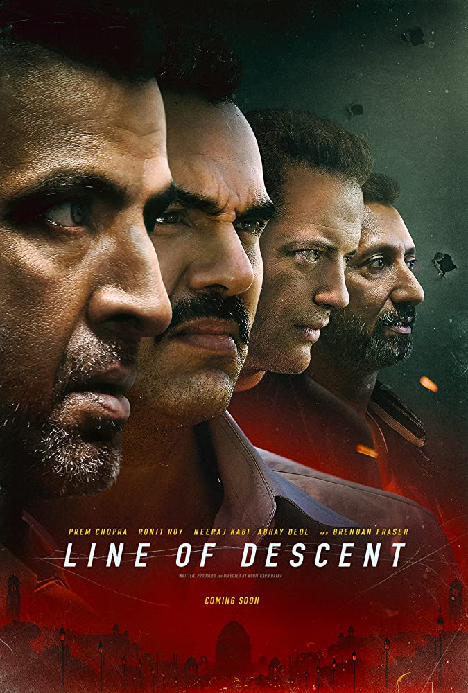 Line of Descent 2019 Hindi Movie WebRip 300mb 480p 800mb 720p 1.5GB 1080p