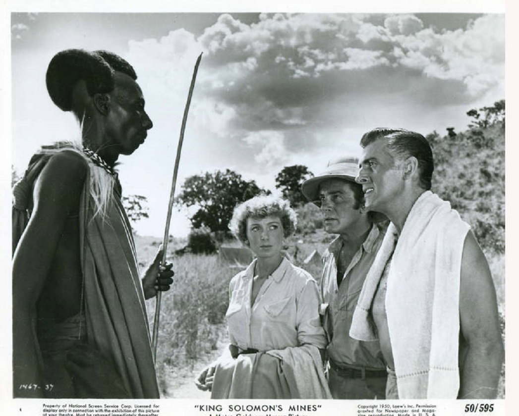 Image result for king solomon's mines 1950