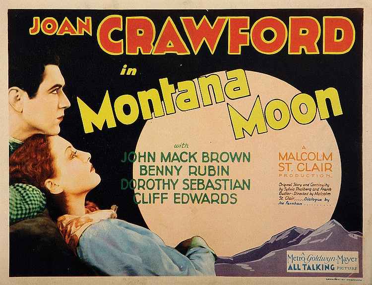 Joan Crawford and Johnny Mack Brown in Montana Moon (1930)