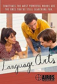 Sarah Shahi, Ashley Zukerman, and Kieran Walton in Language Arts (2020)