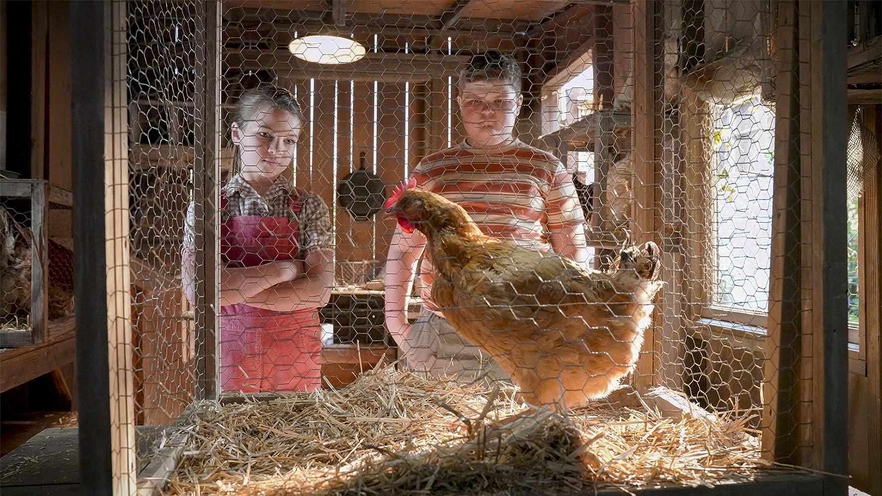 Joven Sheldon 3×11 – Un pollo vivo, un pollo frito y un matrimonio sagrado
