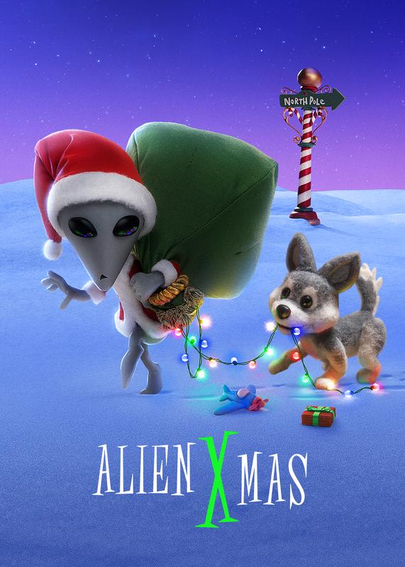 Alien Xmas (2020) Dual Audio Hindi-English x264 Msubs Bluray 480p [132MB] | 720p [436MB] mkv
