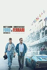 Christian Bale and Matt Damon in Ford v Ferrari (2019)