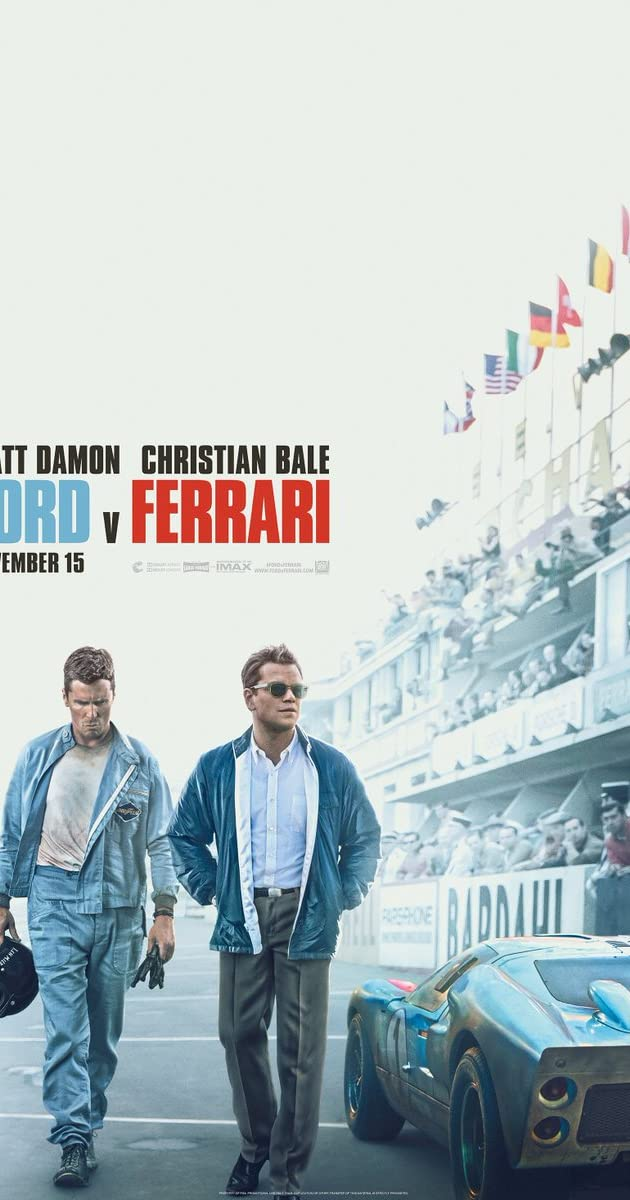 Ford V Ferrari 2019 Matt Damon As Carroll Shelby Imdb
