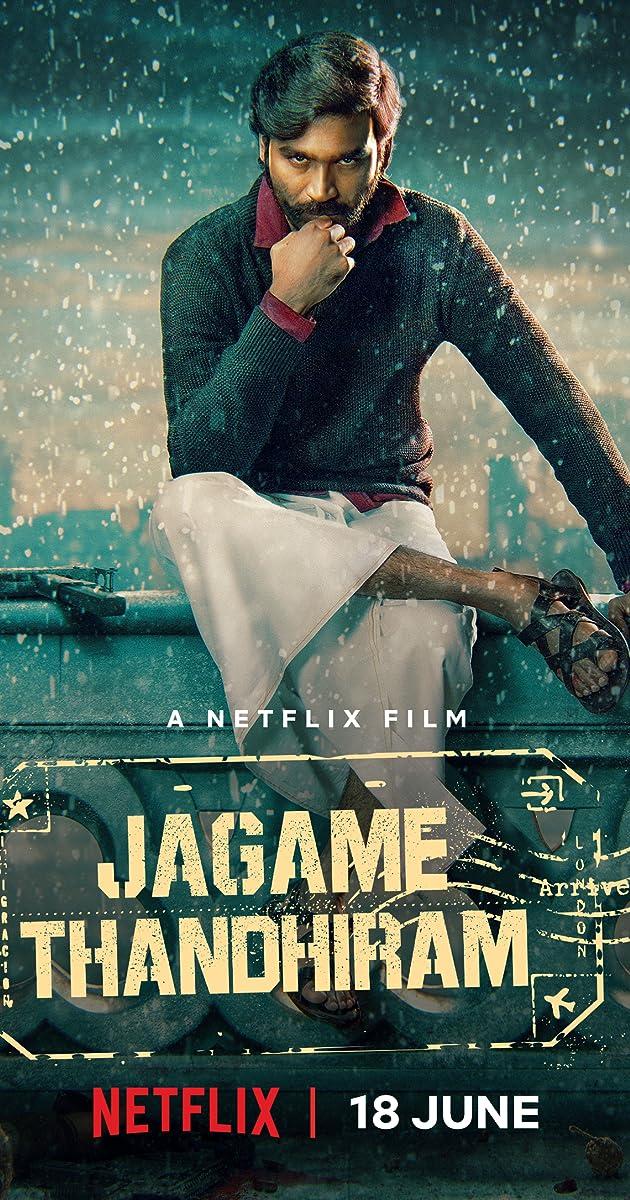 Jagame Thandhiram (2021) HDRip Hindi (Original) Dubbed Movie download free