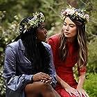 Miranda Cosgrove and Laci Mosley in iCarly (2021)