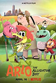 Arlo the Alligator Boy Poster