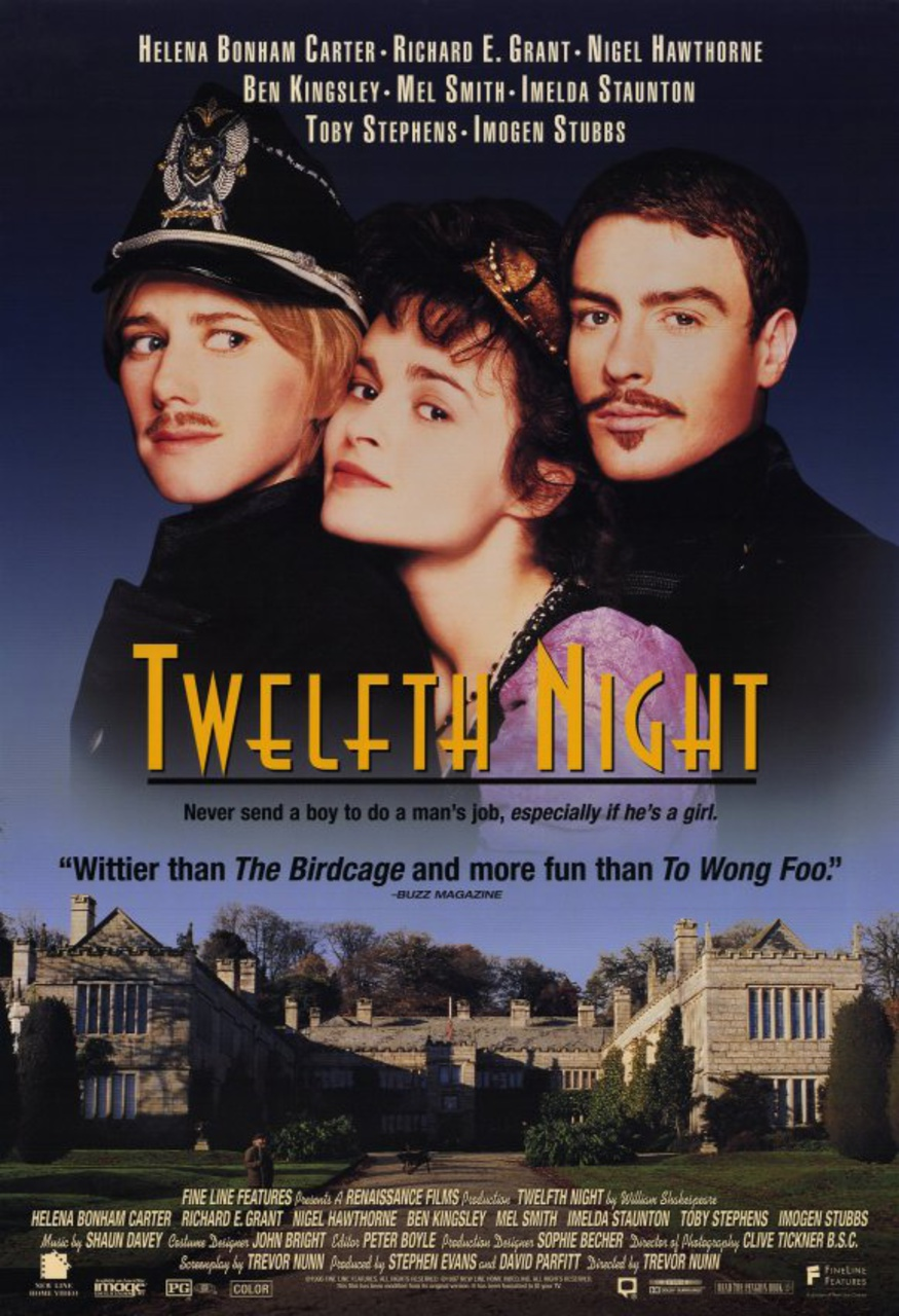 female characters in twelfth night